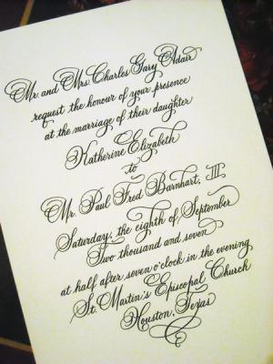 کانال English Calligraphy