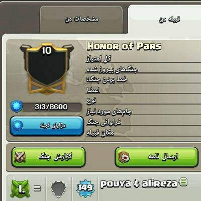 کانال Honor Of Pars