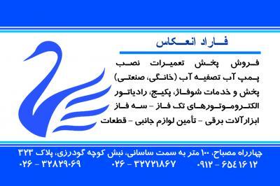 کانال فاراد انعکاس