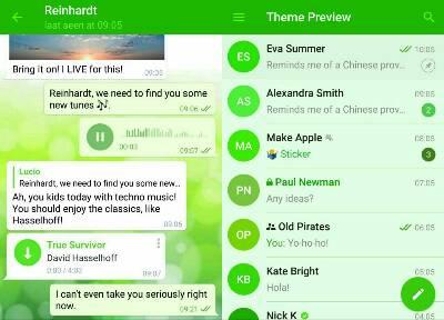 کانال تم های جذاب تلگرام