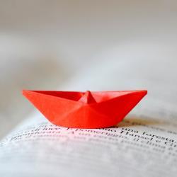 کانال قایق کاغذی....⛵