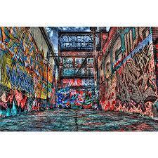 کانال gangester graffiti