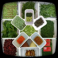 کانال سبزی و صیفی آماده