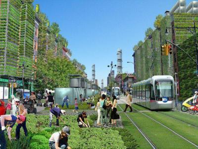 کانال کشاورزی شهری