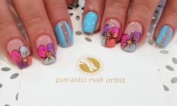 کانال nail art parasto