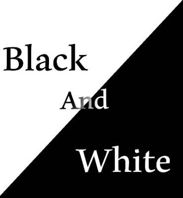 کانال آی گپ سیاه سفید