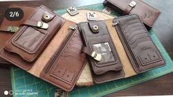صفحه اینستاگرام کیف چرم طبیعی حلما
