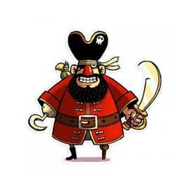 استیکر دزد دریایی