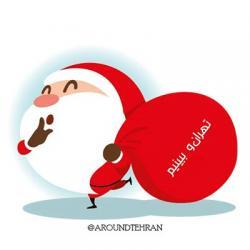 استیکر بابانوئل