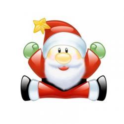 استیکر کریسمس مبارک