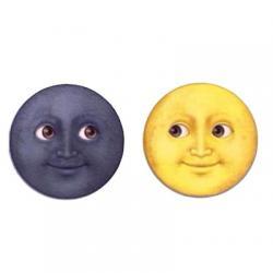 استیکر ماه و خورشید