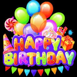 استیکر Happy Birthday