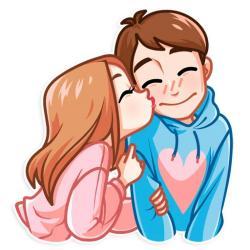 استیکر داستان عشق ♥